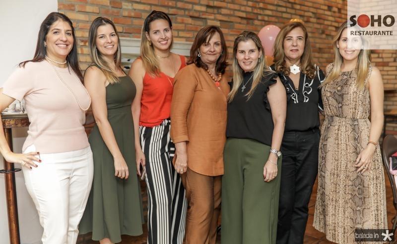 Elisa Oliveira, Lurdinha Brasil, Mariana Queiroz, Patricia Siqueira, Adriana Loureiro, Joria Araripe e Paula Rolim