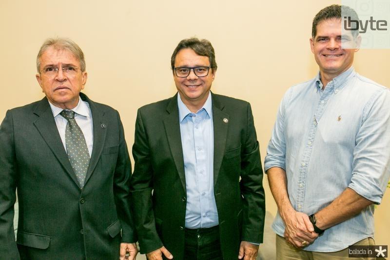 Fernando Pinto, Ricardo Teixeira e Clausen Duarte