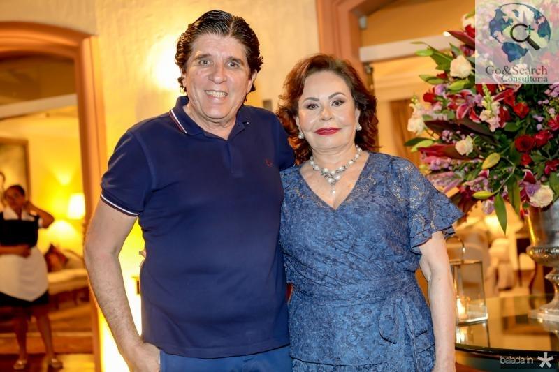 Dito Machado e Marly Nogueira