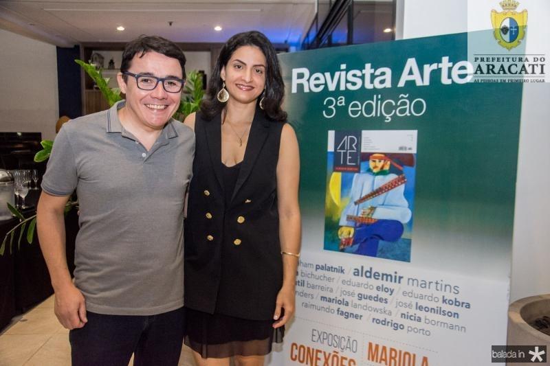 Junior Gomes e Jessica Bastos