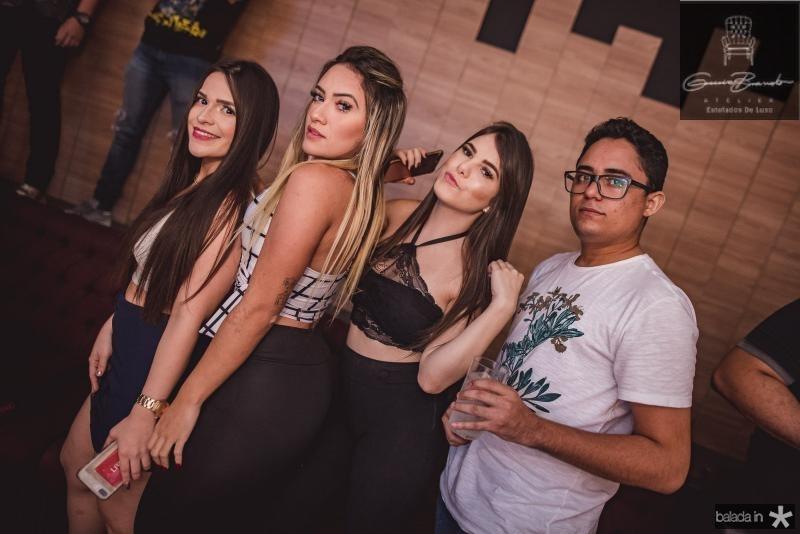 Debora Meury, Tayane Alves, Luise Prada e Wiliame Sousa