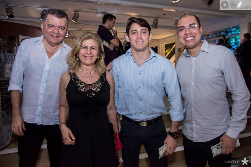 Omar de Albuquerque, Telma Aguiar, Eduardo Romeu e Josafa Neto
