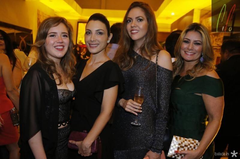 Isabella Reboucas, Danielly Linheiro, Ana Flavia Torquato e Tatiana Luna