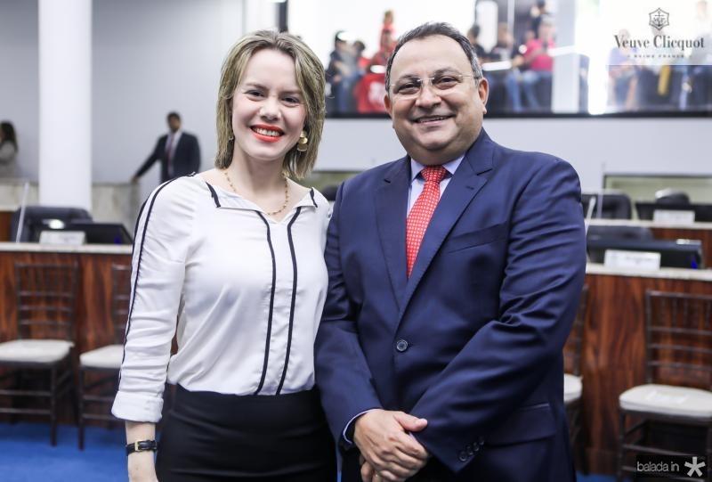 Natalia Rios e Moacir Maia