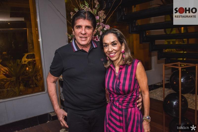 Dito Machado e Marcia Tavora