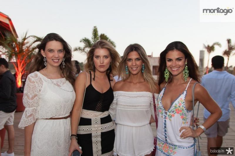 Debora Negreiros, Bruna Stainer, Camila Militao e Bruna Rocha