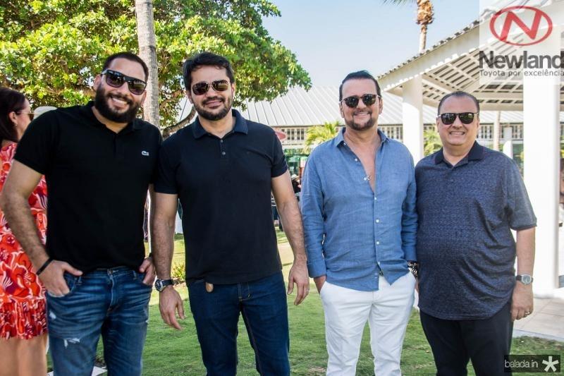 Junior Gadelha, Wanderson Goncalves, Adrisio Camara e Max Camara