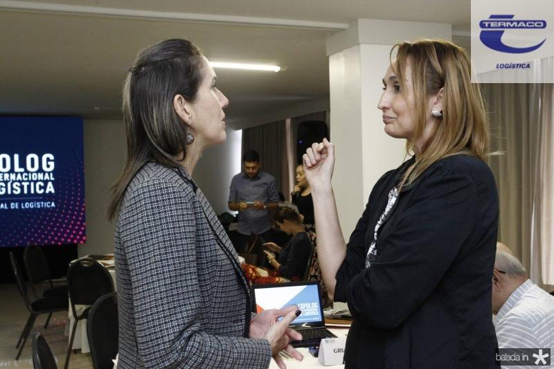 Alessandra Romano e Myrella Abreu