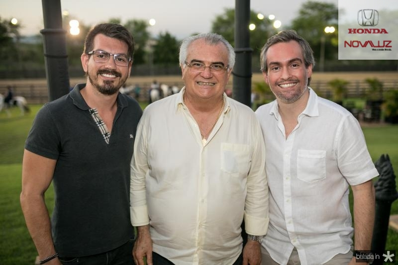 Luis, Carlos e Joao Paulo Feitosa