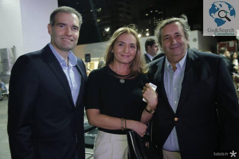 Luiz Eduardo Figueiredo, Adriana e Pedro Garcez