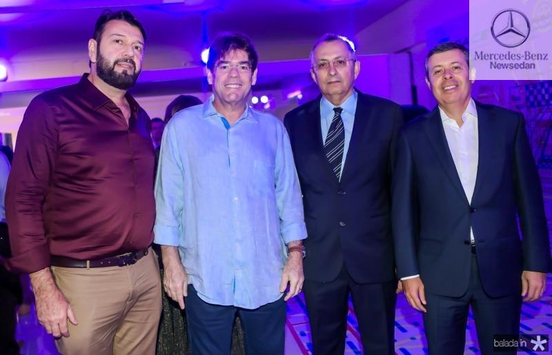 Elinaldo Diniz, Marcos Albuquerque, Odilon Peixoto e Anastacio Marinho