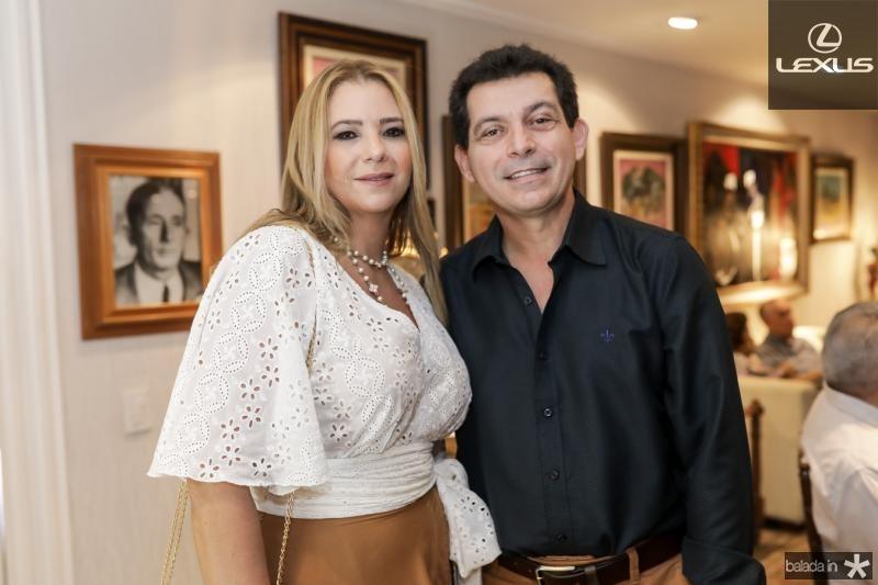 Lorena Gazineu e Claudio Arcurio