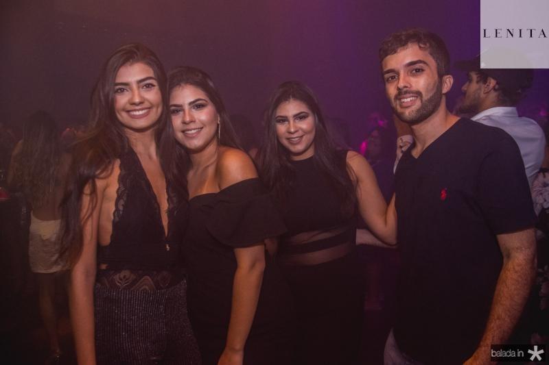 Andressa Kattlin, Bruna de Matos, Brena de Matos e Vitor Leite