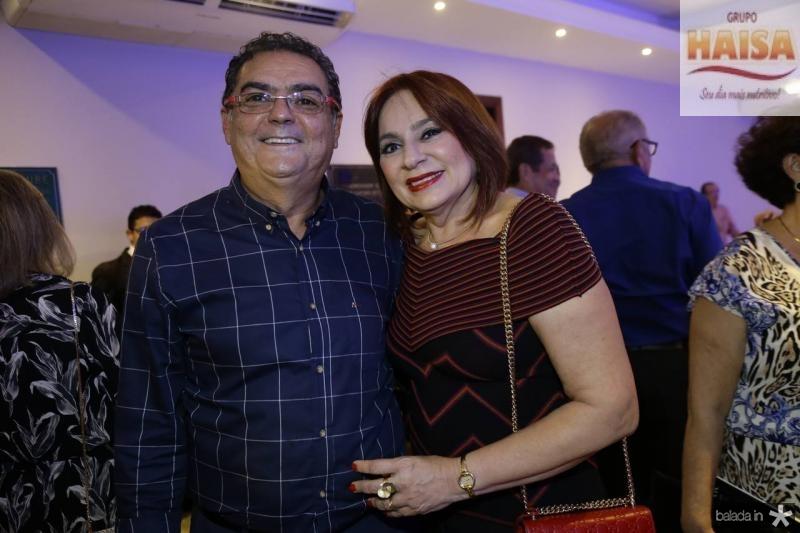 Helder e Cristina Moreno