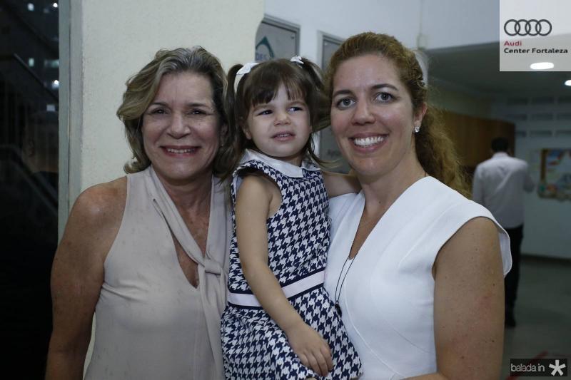 Stela Rolim, Julia e Ticiana Queiroz