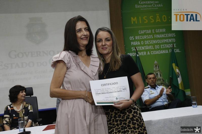 Jussara Figueiredo e Raquel Vasconcelos