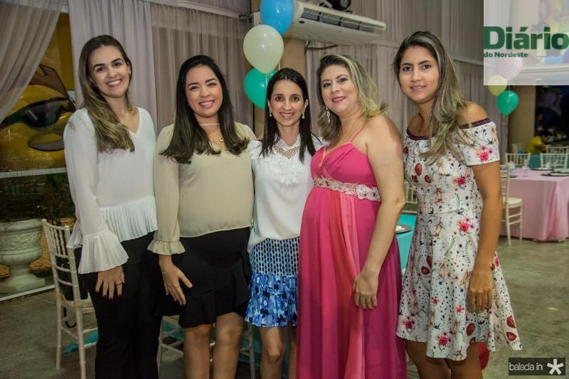 Isabela Pompeu, Yeska Martins, Flavia Lima, Liana Aragao