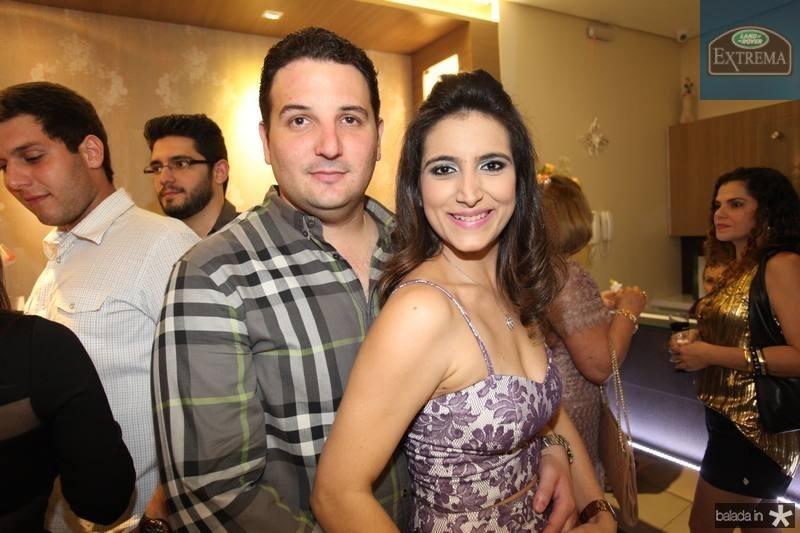 Victor Praça e Camila Rodrigues