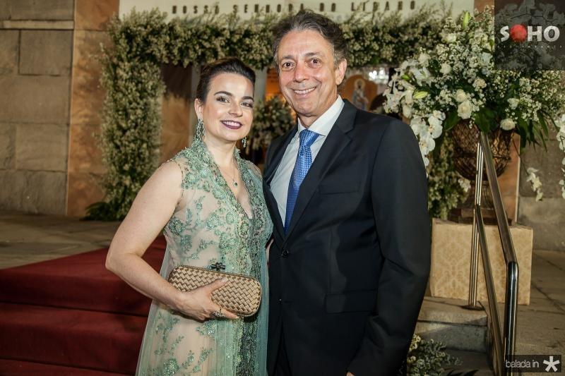 Daniela e Afranio Barreira