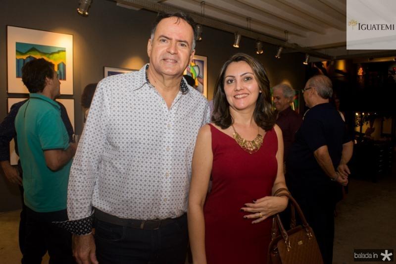 Wilton Queiroz e Liana Sousa