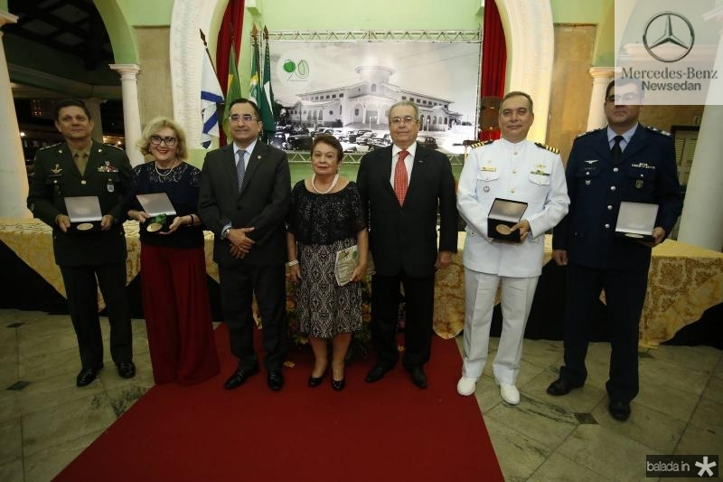 Coronel Jose Cordeiro, Socorro Franca, Jardson Cruz, Amelia Coelho de Araujo, Meton Cesar de Vasconcelos, Comandante Madson Cardoso e Coronel Alex Pereira