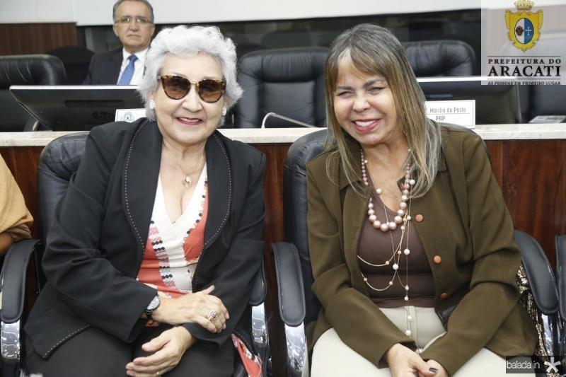 Stefania Pinheiro e Selma Cabral