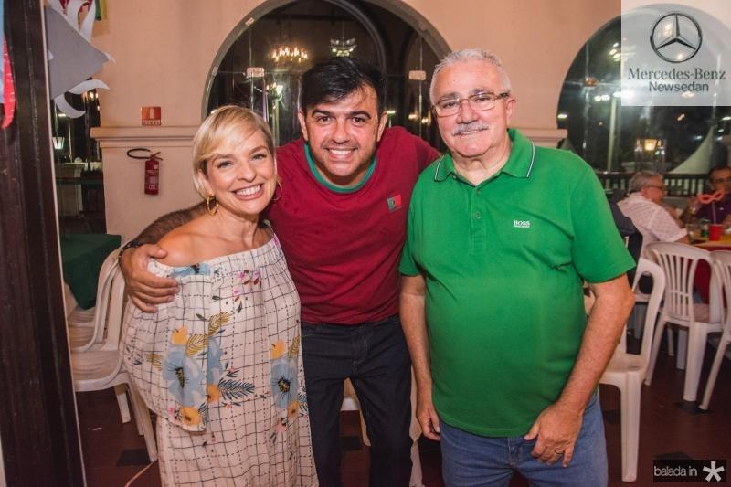 Paola Braga, Jaime de Paula e Alcimor Rocha