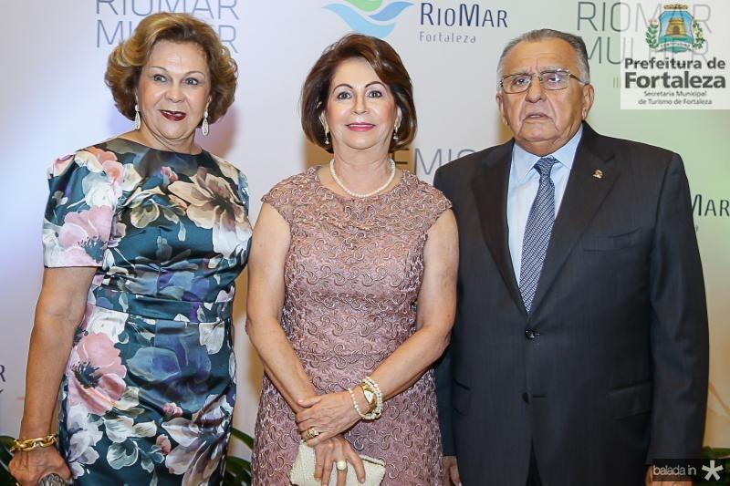 Auxiliadora Mendonça, Fatima Veras e Joao Carlos Paes Mendonça