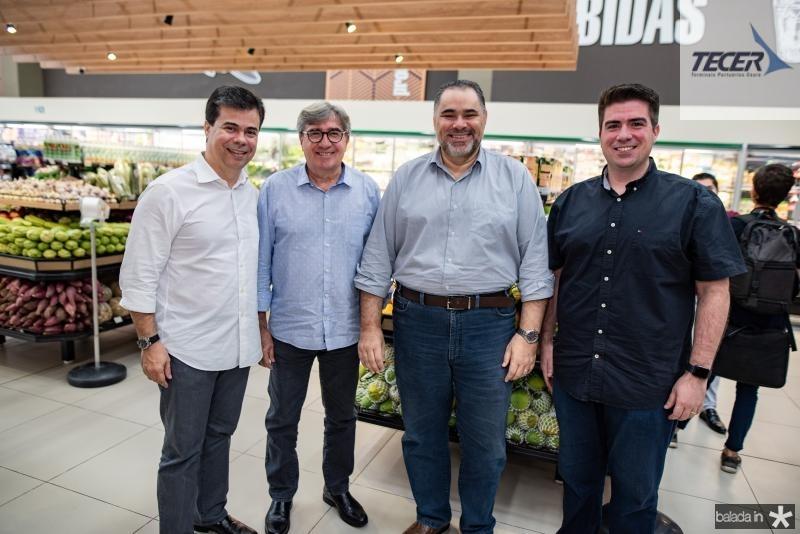 Duda Brigido, Miguel Figueiredo, Edson Ferreira e Flavio Figueiredo