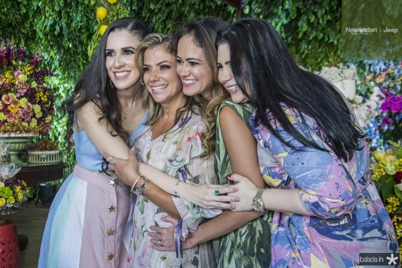 Giuliana Botelho, Vanessa Queiros, Bia Bezerra e Ana Santos