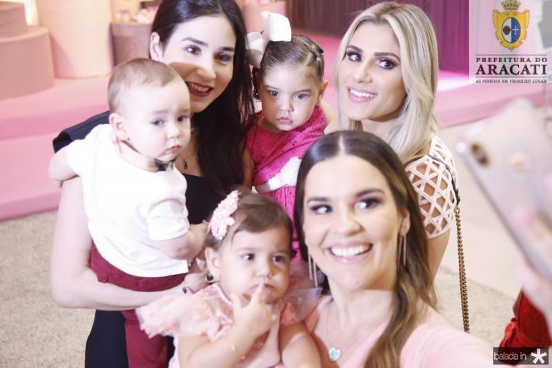 Julinho e Sofia Castenheira, Leis e Ana Paula Domene, Leticia e Patricia Holanda 2