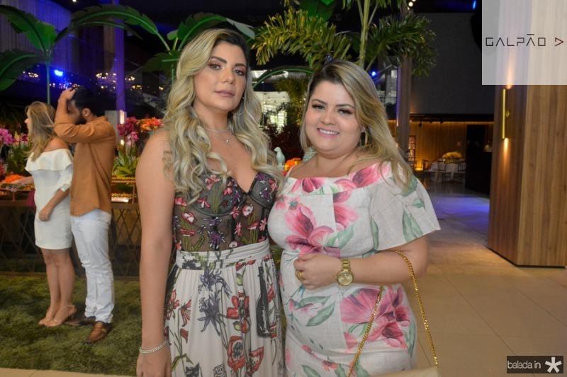 Debora Sena e Viviane Nascimento