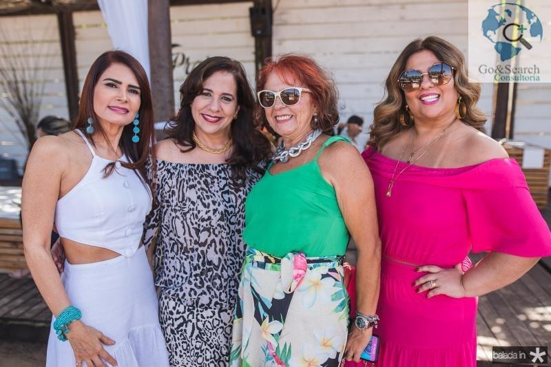Lorena Pouchain, Martinha Assuncao, Fatima Duarte e Montiele Arruda