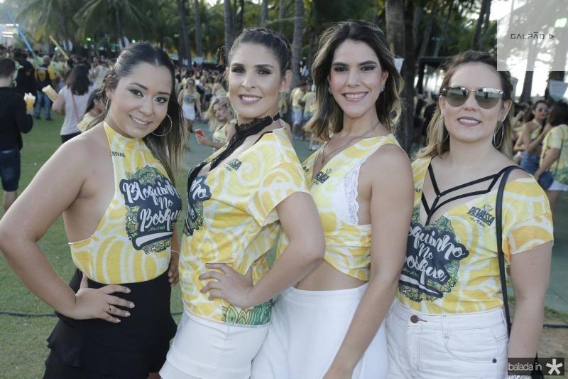 Sabrina Lima, Danielle Reis, Nathalia Sampaio e Andressa Melo