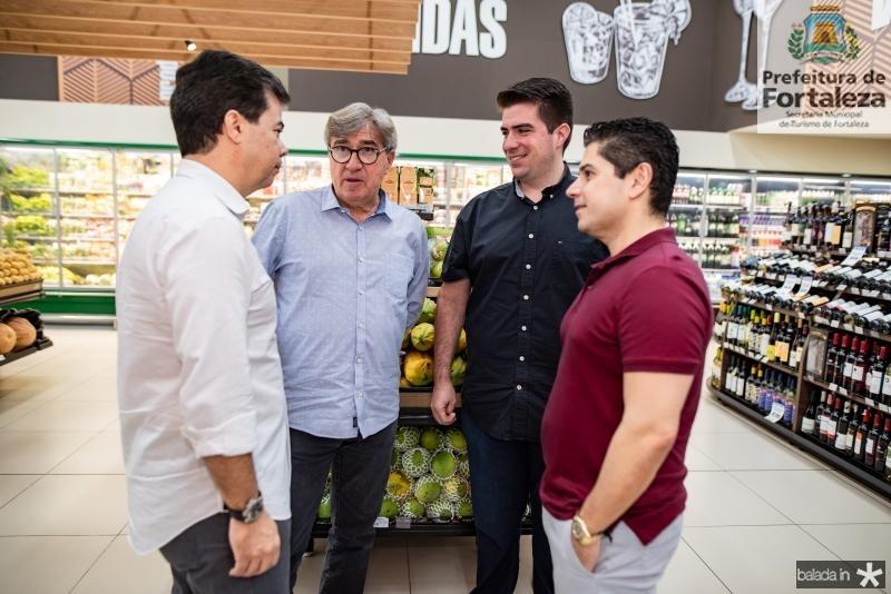 Duda Brigido, Miguel Figueiredo, Flavio Figueiredo e Pompeu Vasconcelos