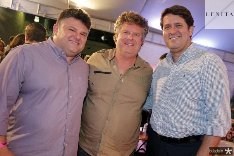 Lavor Neto, Evandro Colares e Rafael Rodrigues