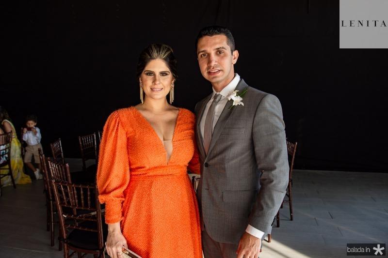 Natalia Freitas e Bruno Cavalcante