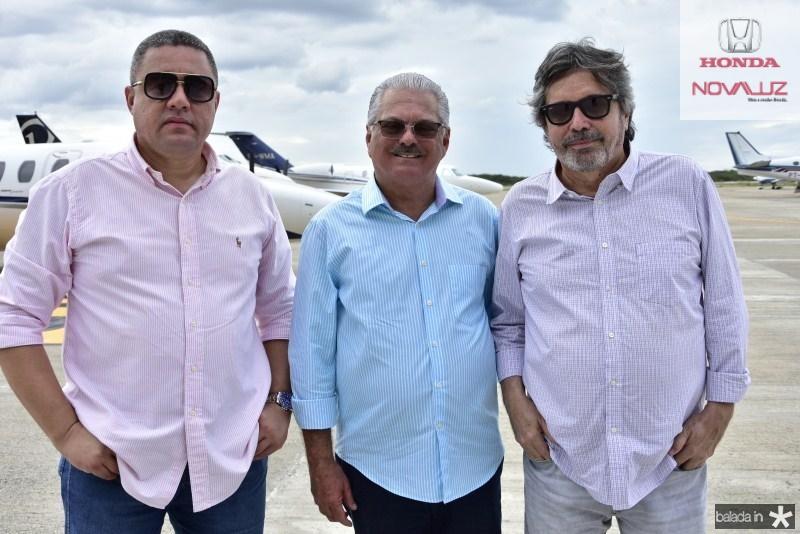 Bertran Duarte, Victor Frota e Totonho Laprovitera