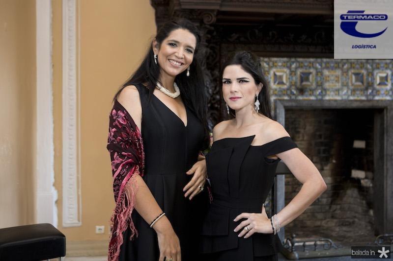 Manuela Rosas Ferreira e Marilia Quinta?o