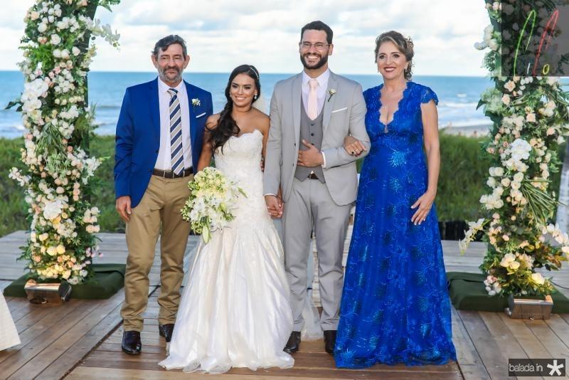 Vieira, Veruska, Tiago e Conceiçao Lobo