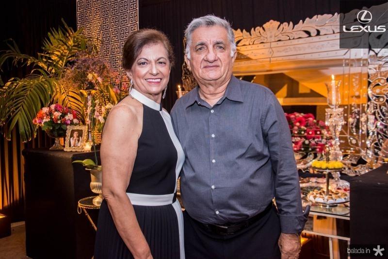 Maria Ines Benevides e Sergio Armando Benevides