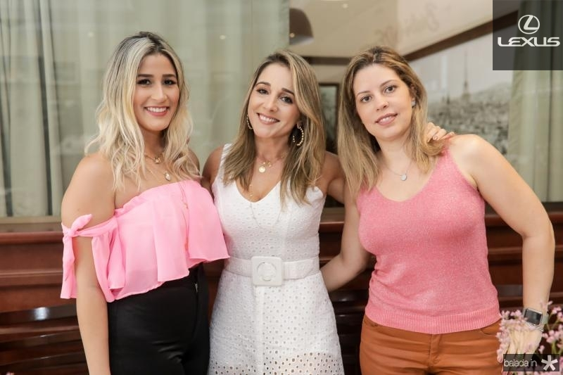 Tayrine Moura, Sofia Cruz e Patricia Cruz