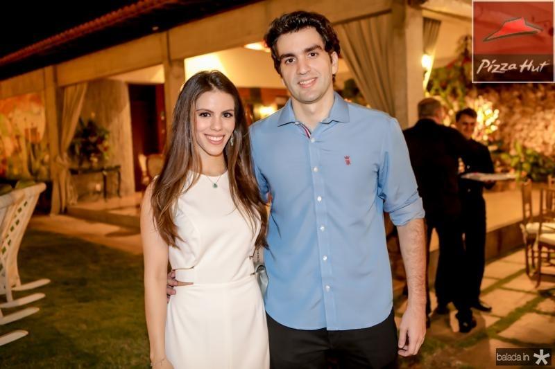 Manoela Rolim e Rafael Nogueira