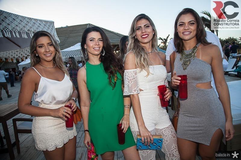 Erica Benicio, Natalia Silveira, Nielen Alves e Mariana Braga