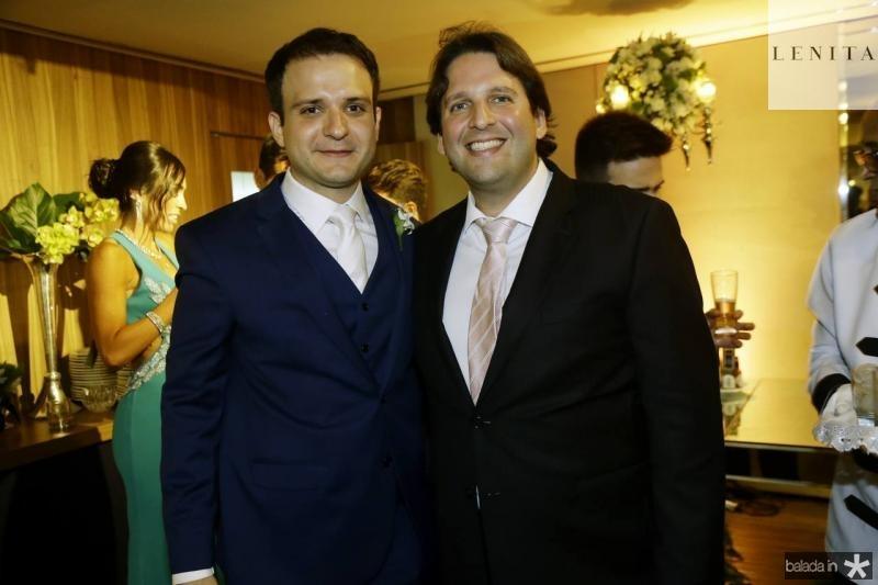 Rafael Lobo e Daniel Simoes