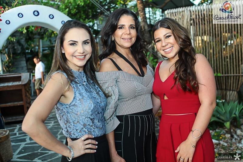 Adriana Queiroz, Maria Lucia e Maria Clara Negrao