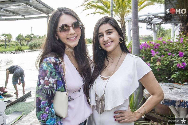 Leticia Sa e Paula Felizola