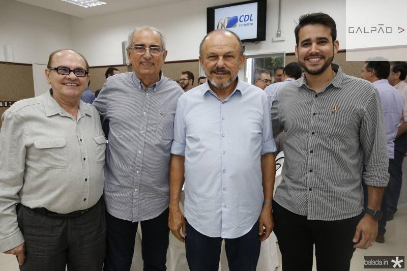 Airton Boris, Bosco Macedo, Honorio Pinheiro e Cabral Neto
