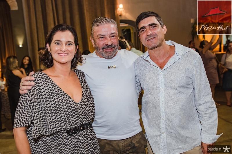 Cecilia Seligmann, Claudio Silveira e Agustim Herrero