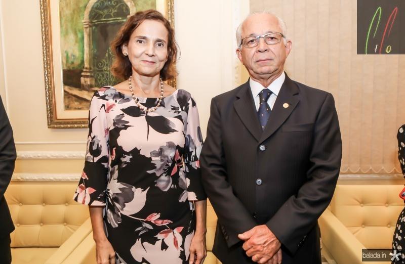 Izolda Cela e Brito Pereira